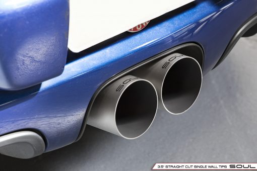 Porsche 987.2 / 981 Boxster / Cayman Bolt-On X-Pipe With Tips