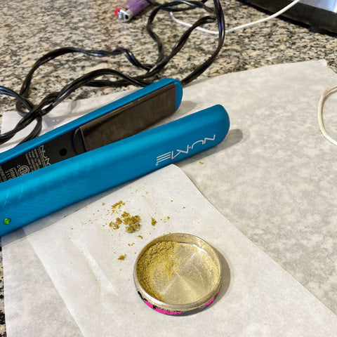 How to make hasish from kief