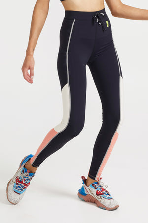 Forward Pass Legging Black