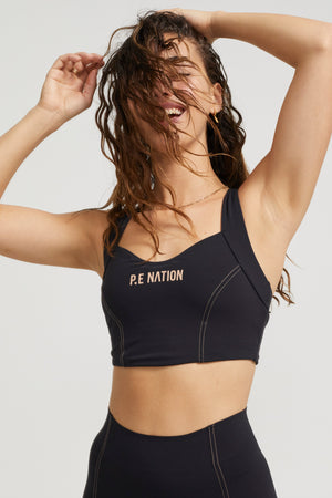 Elevation Sports Bra Black