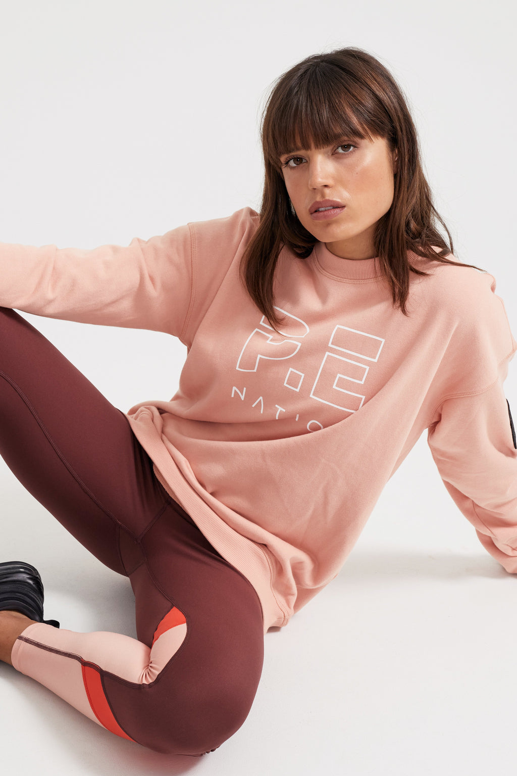 Heads Up Sweat Coral Pink