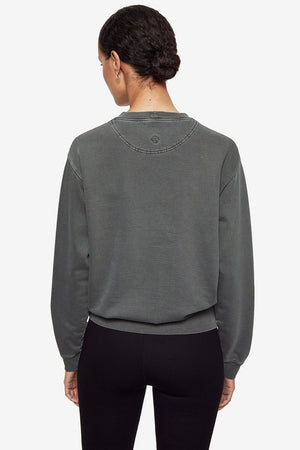 Ramona Sweatshirt Motorcycle Charcoal