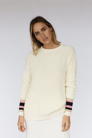 Lexi Knit Jumper Off White