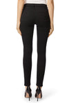 Maria High-Rise Skinny In Eco Seriously Black