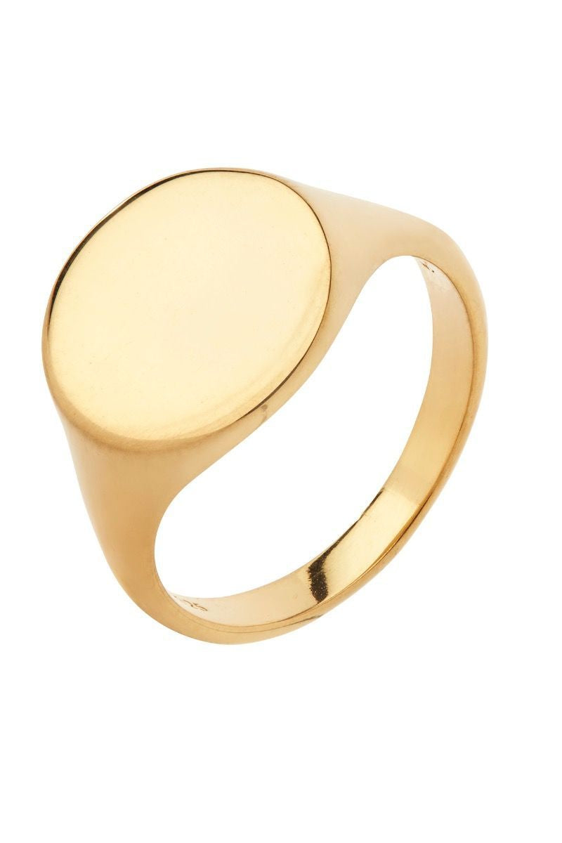 Ready Heart Signet Ring