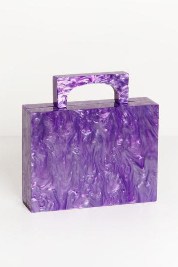 Alexa Bag Purple