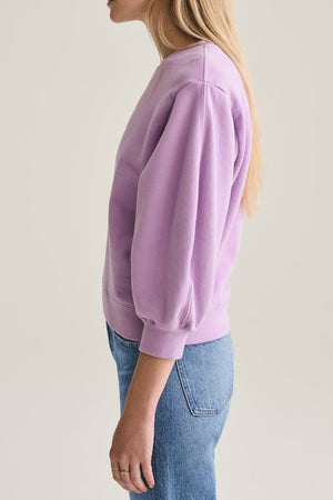 Thora 3/4 Sleeve Sweatshirt in Lunar
