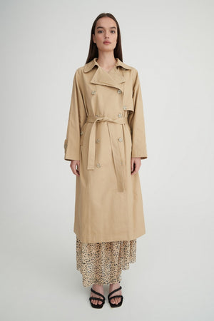 Dempsey Trench Coat Safari