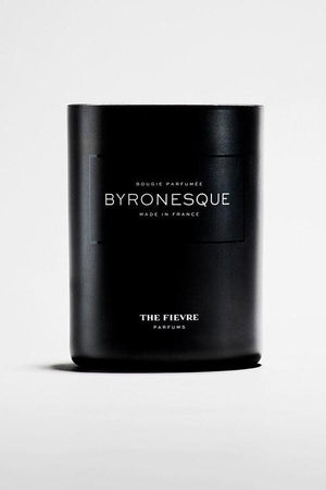 Byronesque Wax Candle