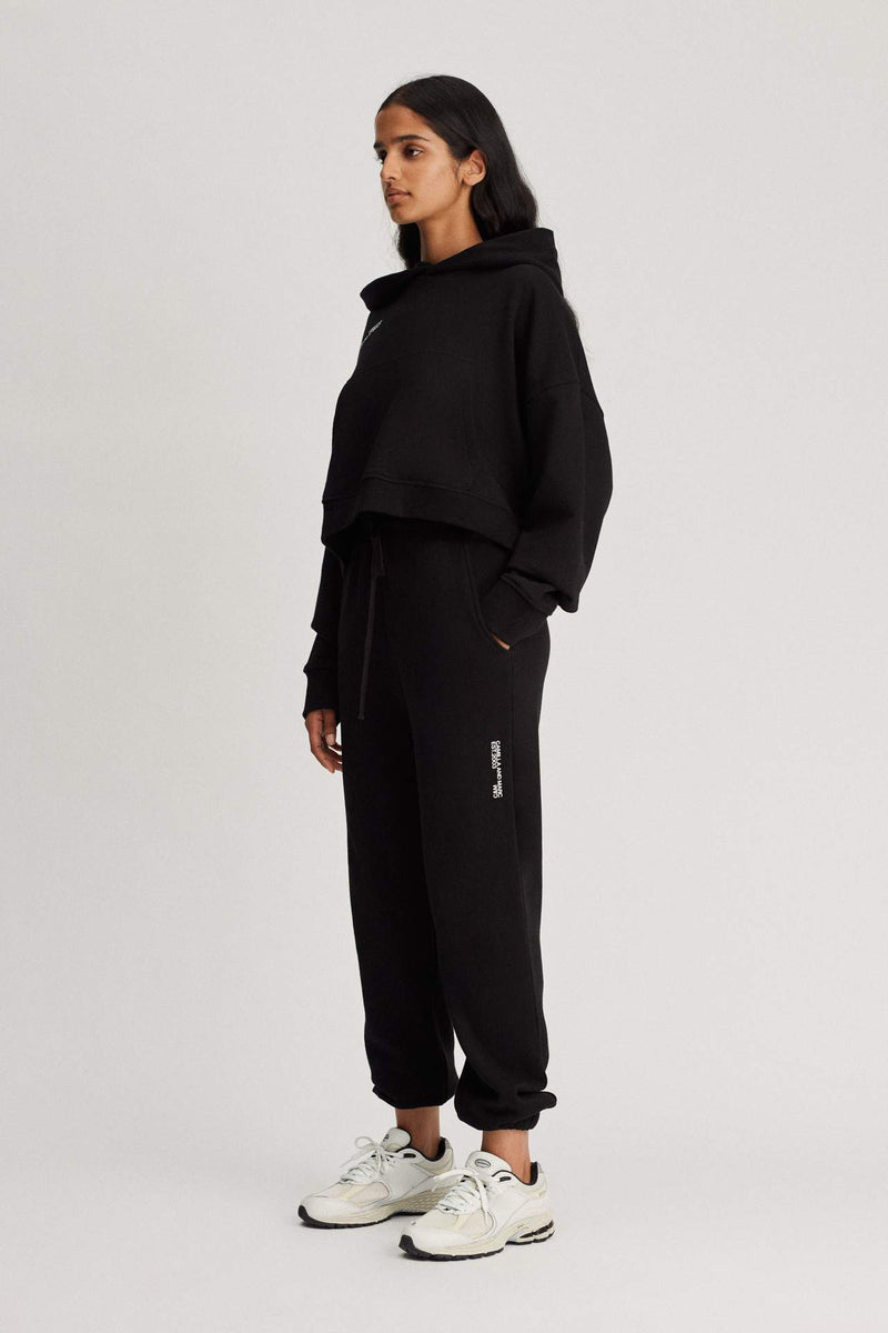 Jordan High Waisted Track Pant Black