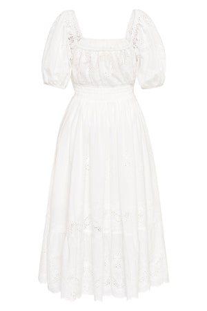 Capulet Broderie Anglaise Soiree Dress