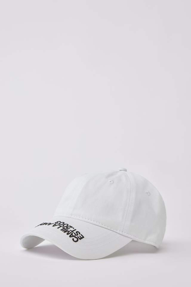 Colorado Cap White w/ Black