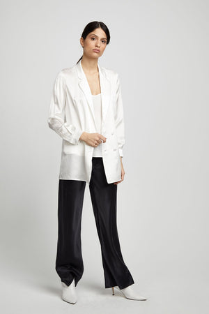 Relaxed Blazer White