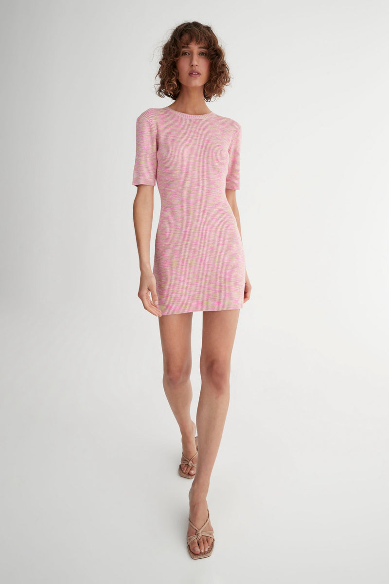 Hurley Dress Electric Pink