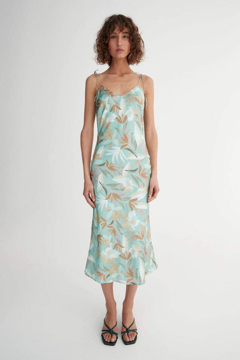 Mimi Dress Blue Hawaii