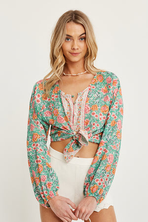Harmony Blouse Mint
