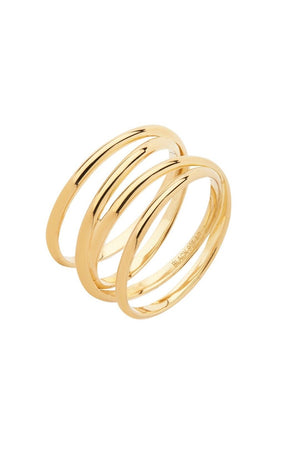 Auguste Wrap Ring Gold
