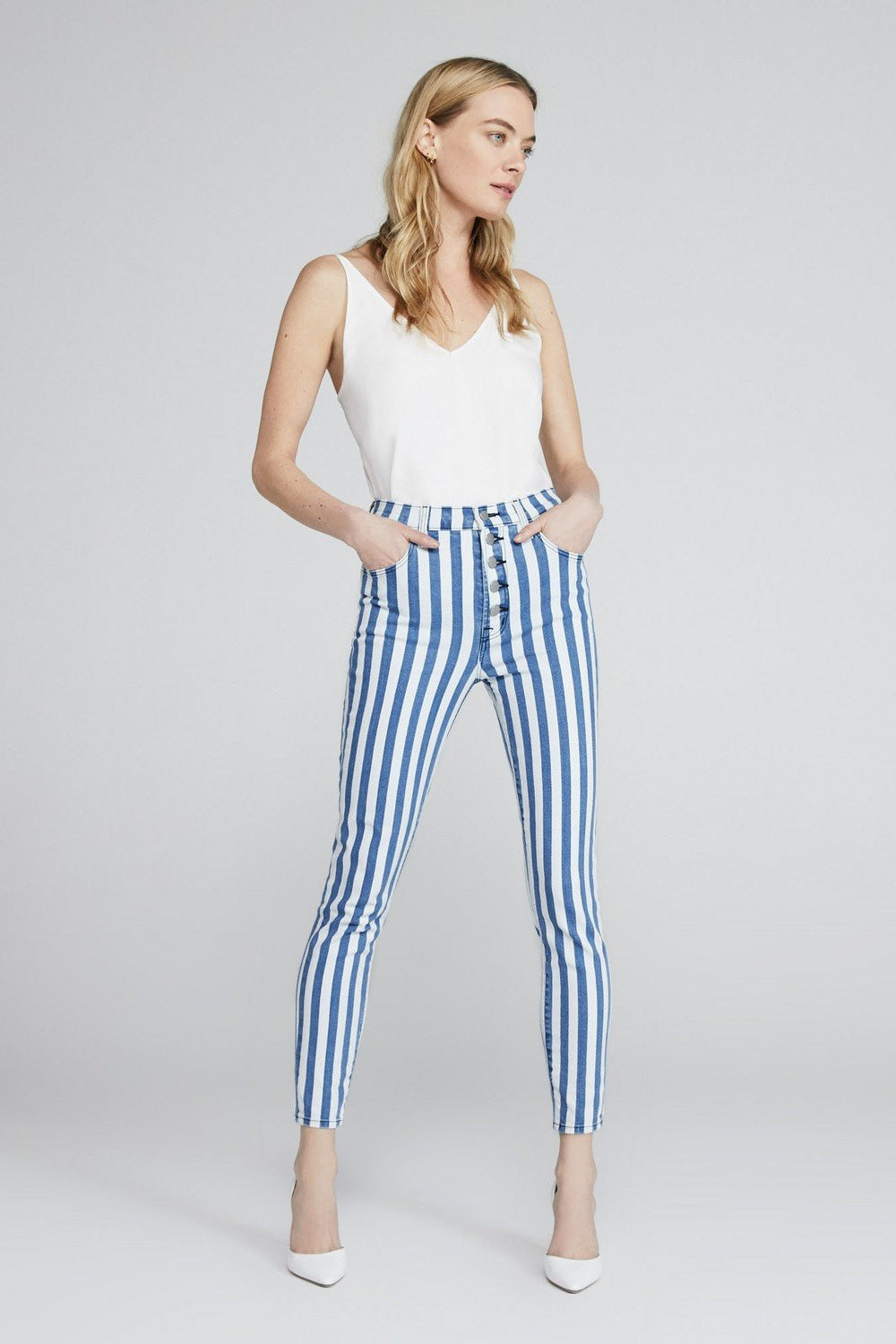 Lillie High-Rise Cropped Skinny in Unite