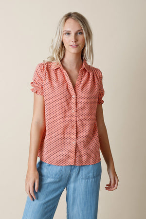 Sunday Blouse Grapefruit