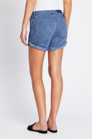 Delphine Bright Indigo Denim Short
