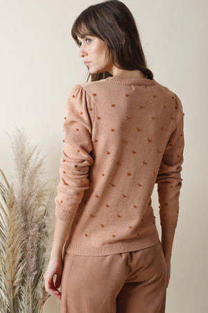 Long Sleeve Knit Top Ladybird