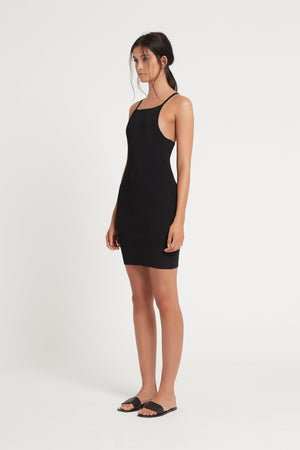 Ingrid Mini Dress Black