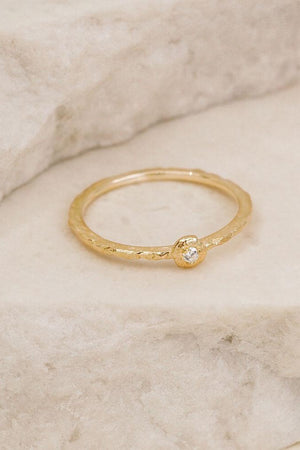 Gold Guiding Light Ring