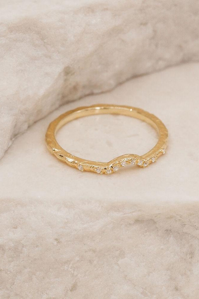 Gold Journey Ring