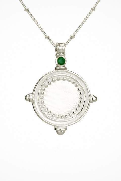 Sura Necklace Silver