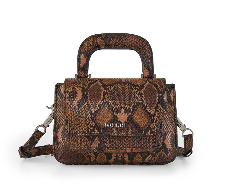 Chocolate Snake Reader Satchel