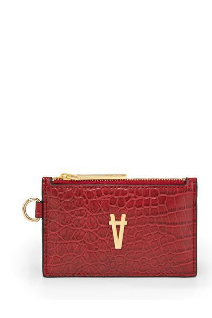 Revolution Red Croco Operative Wallet