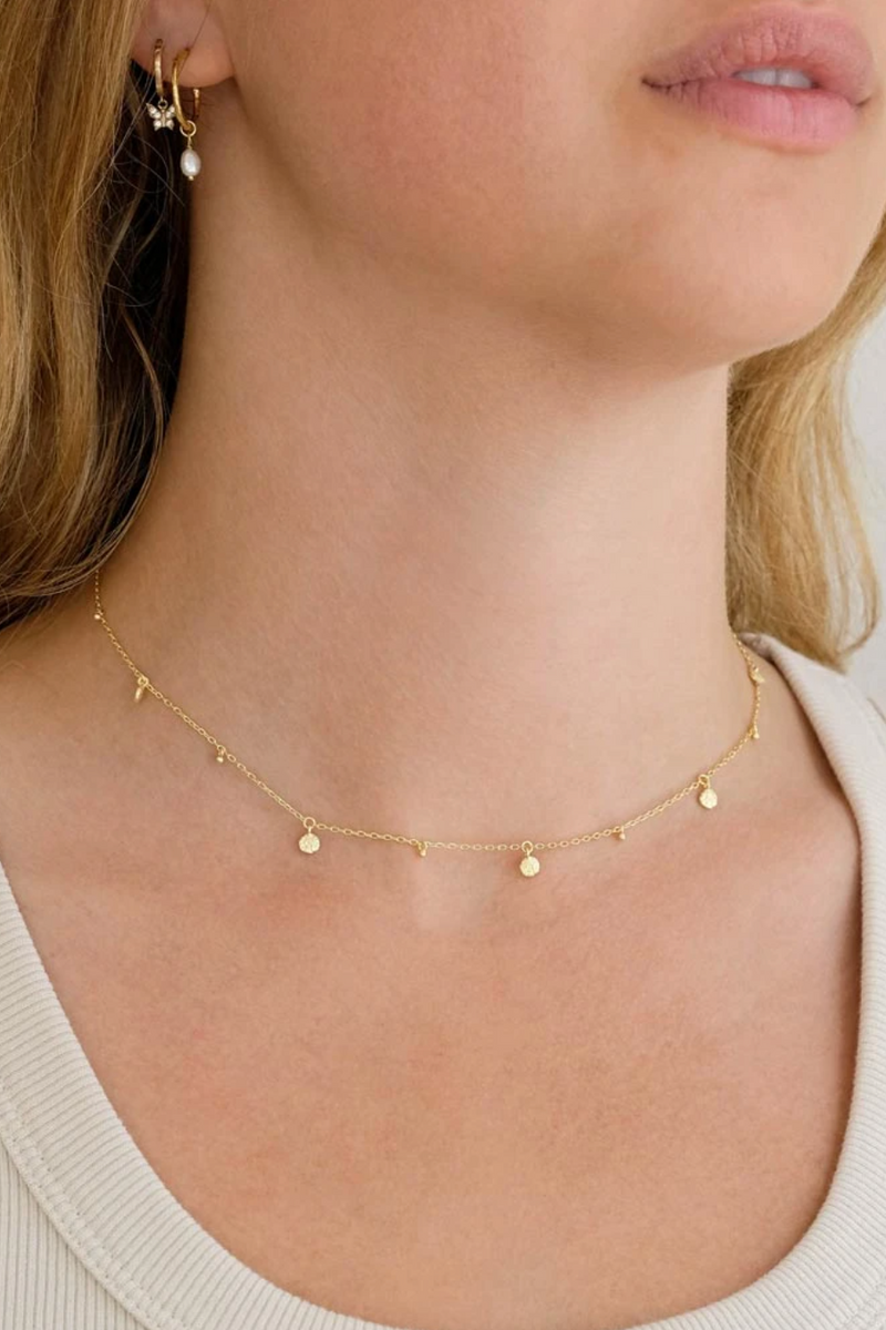 Gold Guiding Light Choker