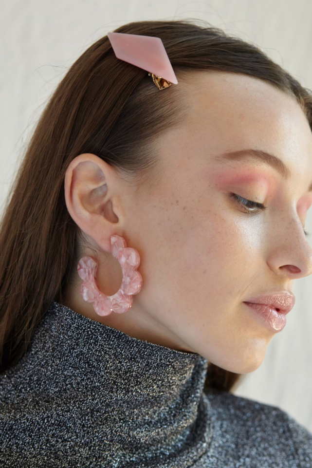 Maritza Earrings Pink