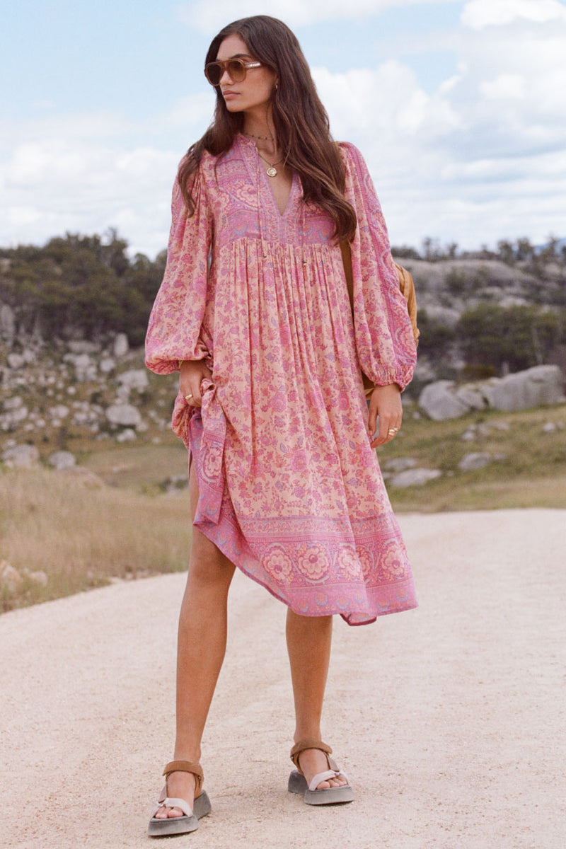 Folk Song Boho Dress Blossom