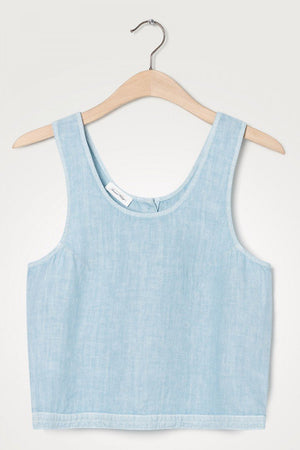 Tibtown Tank Top Azurin