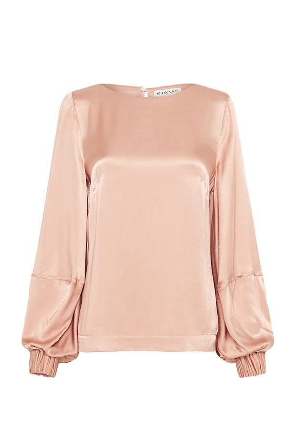 Wright Balloon Sleeve Top