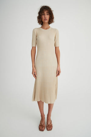 York Dress Natural Rib