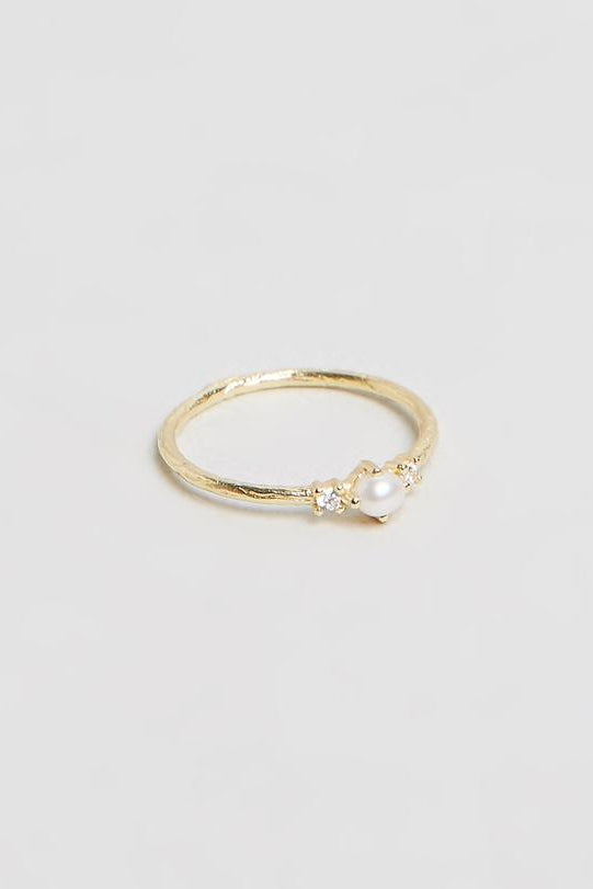 Gold Eternal Peace Ring