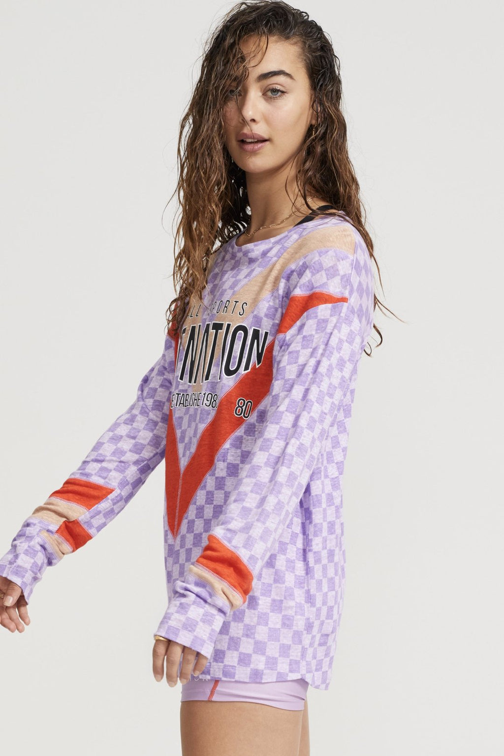 Outfield L/S Top Lilac