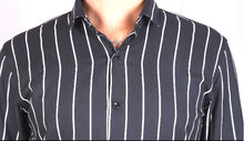 Load image into Gallery viewer, Black Vertical Stripe Shirt