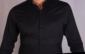 SINGLE POCKET CHEST DETAIL SHIRT