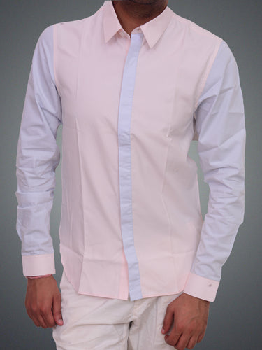 100% Cotton mix n match semi formal shirt