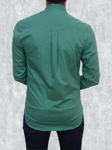100% cotton pastel green summer shirt