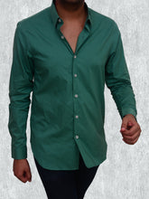 Load image into Gallery viewer, 100% cotton pastel green summer shirt