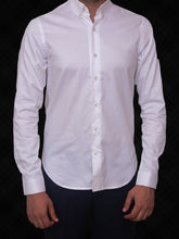 Load image into Gallery viewer, 100% Cotton Twill button down formal white shirt