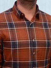 Load image into Gallery viewer, 100% Cotton yarn dyed check shirt