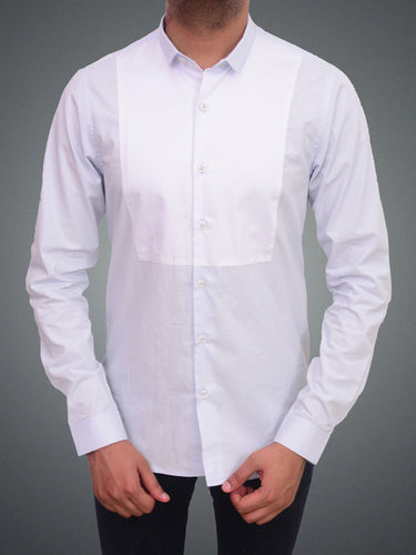 100% Cotton Semi formal front patch shirt