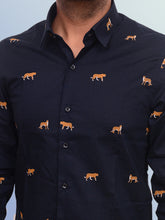 Load image into Gallery viewer, 100% Cotton leopard print shirt