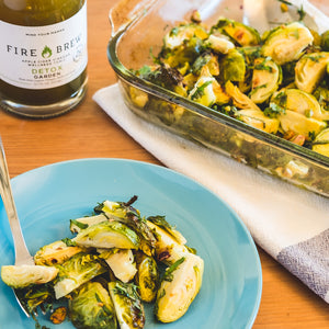 Garden Roasted Brussels Sprouts