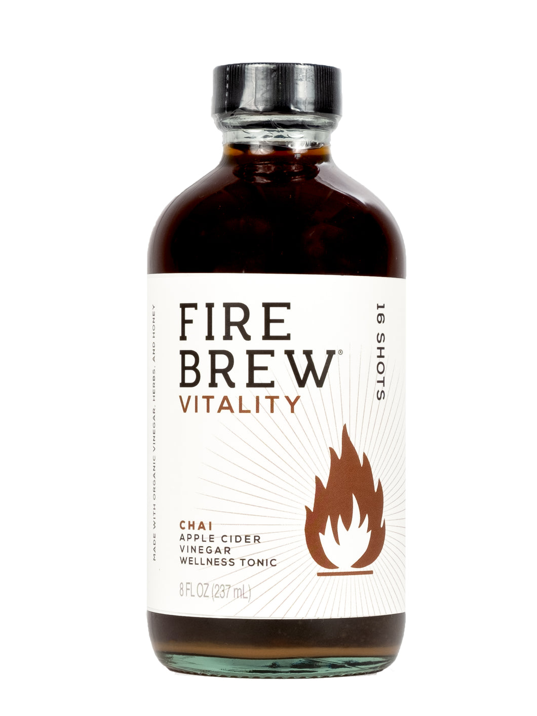Fire Brew - Vitality Chai Apple Cider Vinegar (Fire Cider) Tonic